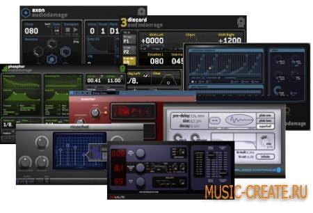 Audio Damage - Plugins Collection WiN/MAC - сборка плагинов