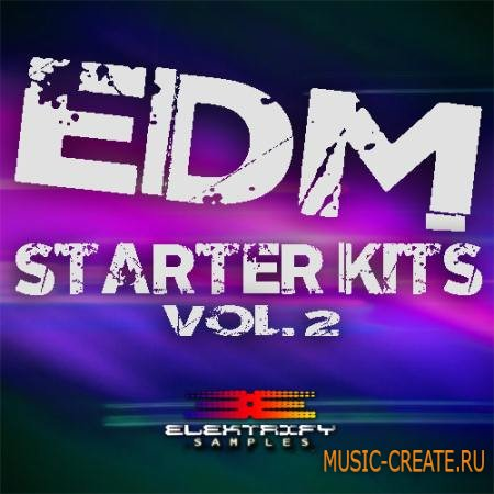 Elektrify Samples - EDM Starter Kits Vol.2 (WAV MiDi) - сэмплы EDM