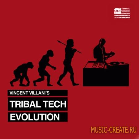 Utd Recordings - Vincent Villanis Tribal Tech Evolution (WAV) - сэмплы Tech House