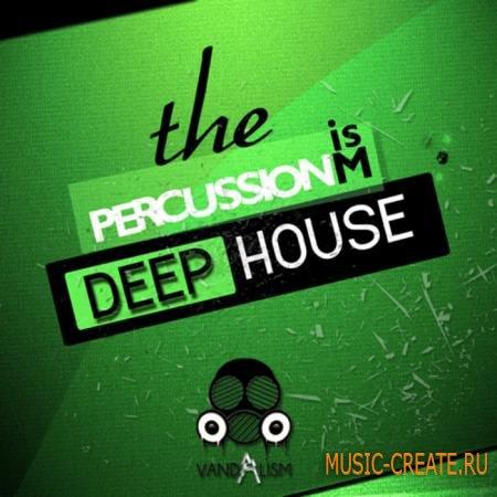 Vandalism - Percussionism Deep House (WAV) - сэмплы ударных
