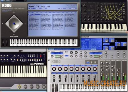 KORG Legacy Collection Special Bundle WIN OSX (Team AiR) - сборка синтезаторов KORG