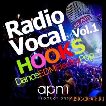 APM Productions - Radio Vocal Hooks Vol 1 (WAV) - вокальные сэмплы