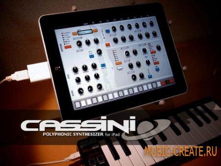Cassini Synth for iPad v1.2.2 (iOS) - синтезатор для iPad