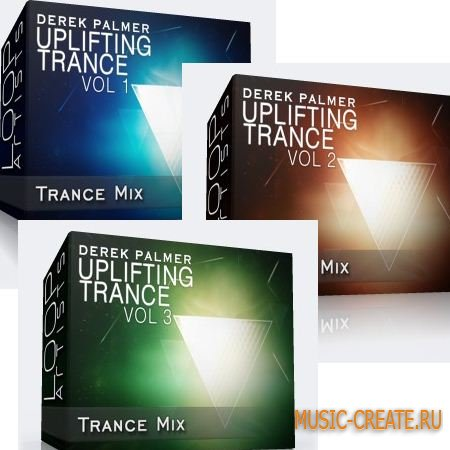 LoopArtist - Uplifting Trance Vol 1-3 (WAV) - сэмплы Trance