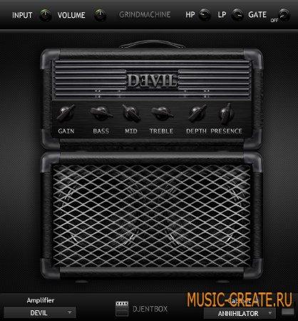 Audio-Assault - GrindMachine v1.5.5 VST VST3 AU RTAS AAX WiN/OSX (Team SYNTHiC4TE) - гитарный усилитель