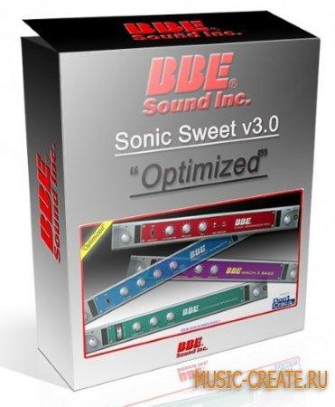 BBE Sound - Sonic Sweet Optimized v3.2.0 WiN/MAC (Team R2R) - сборка плагинов