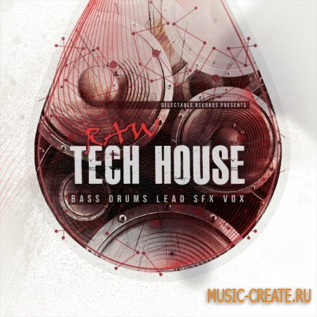 Delectable Records - Raw Tech House (WAV) - сэмплы Tech House