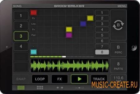 IK Multimedia - GrooveMaker v.1.2.1 iOS