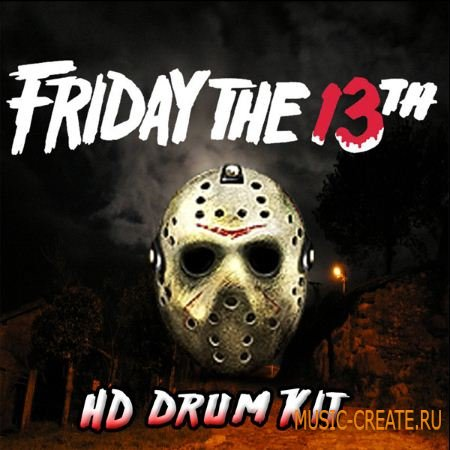 Misfit Digital - Friday The 13th HD Drumkit (WAV Sylenth) - сэмплы Trap