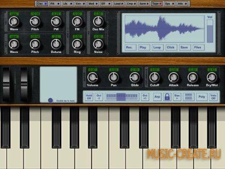 NLog Synth PRO v5.3.1 for iPad (iOS)