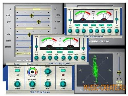 StereoPack VST RTAS v1.9.8 x86/x64 от PSP audio ware - плагины обработки стерео сигнала