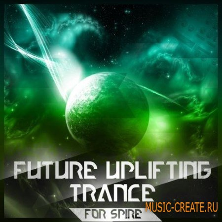 Trance Euphoria Future Uplifting Trance For Spire (SBF FLP MiDi) - FL Studio проект + Spire пресеты