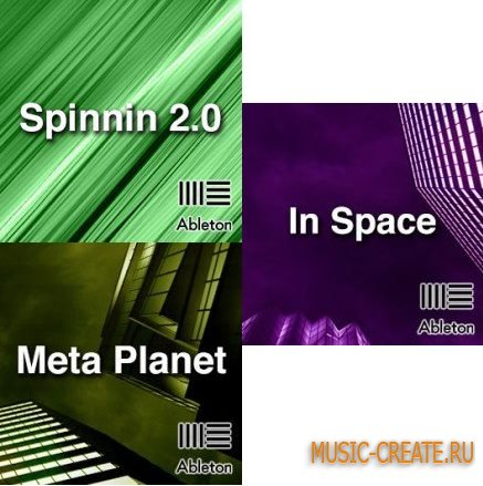 Ableton Templates - Spinnin 2.0, In Space, Meta Planet (Ableton Project)