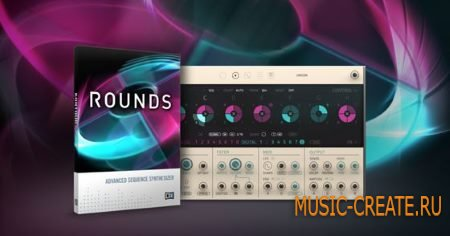 Native Instruments Rounds v1.2.0.3 HYBRID (Team R2R) - синтезатор для Reaktor