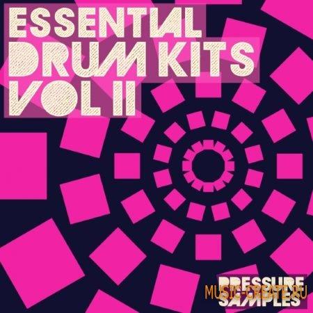 Pressure Samples - Essential Drum Kits Vol.2 (WAV) - сэмплы ударных
