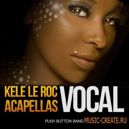 Push Button Bang - Kele Le Roc Vocal Acapellas (WAV) - сэмплы вокала