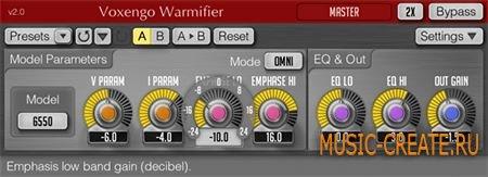Voxengo Warmifier v2.2 WiN/MAC (Team R2R) - плагин энхансер