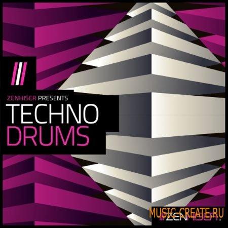 Zenhiser - Techno Drums (WAV) - сэмплы ударных