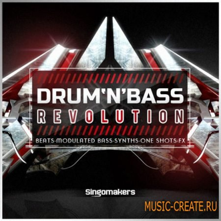 Singomakers - Drum and Bass Revolution (WAV REX2) - сэмплы Drum and Bass
