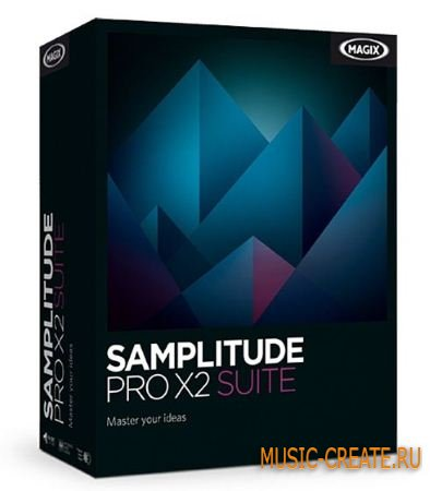 Magix - Samplitude PRO X2 SUITE v13.1.2.170 (TEAM EQUiNOX) - секвенсор / мультитрек