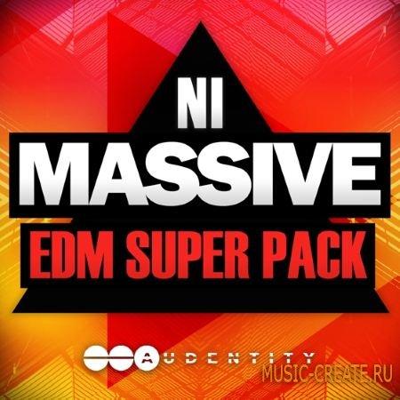 Audentity - NI Massive EDM Super Pack (WAV Ni Massive) - сэмплы EDM