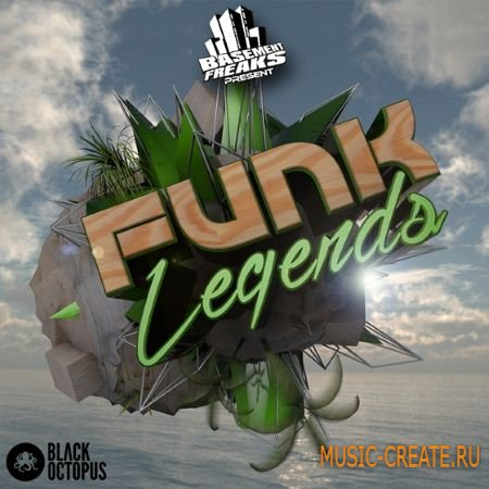 Black Octopus Sound - Basement Freaks Funk Legends (WAV) - сэмплы Funk