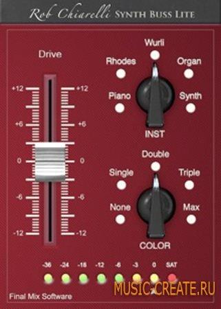 Rob Chiarelli Signature Plug-ins - Synth Buss Lite v1.0.2 WiN/MAC (Team AN0NYM0US)