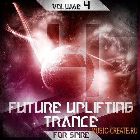 Trance Euphoria Future Uplifting Trance Vol.4 For Spire (SBF SPF MiDi FLP) - сэмплы Trance