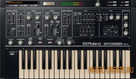 Roland - SH-2 PLUG-OUT v1.0.1.Regged (TEAM R2R) - синтезатор