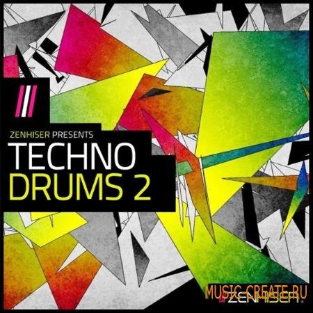 Zenhiser - Techno Drums 2 (WAV) - сэмплы ударных
