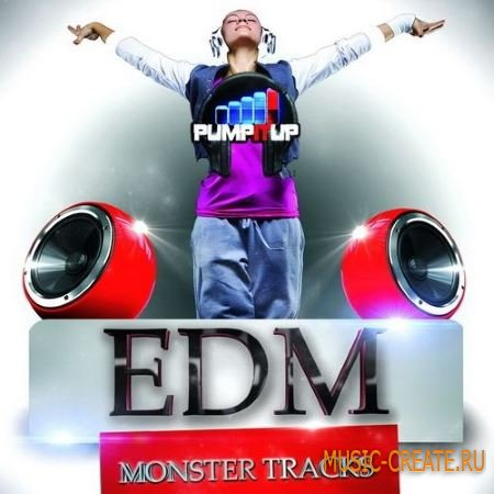 Fox Samples - Pump It Up EDM Monster Tracks (WAV MiDi) - сэмплы EDM