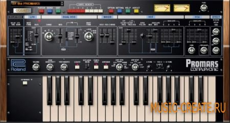 Roland PROMARS PLUG-OUT v1.1.5 (Team R2R) - синтезатор