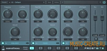 AudioThing - Frostbite v1.1.5 WiN/MAC (Team UNION) - мульти-эффект