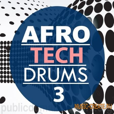 Bingoshakerz Micro - Afro Tech Drums 3 (WAV) - сэмплы Afro Tech