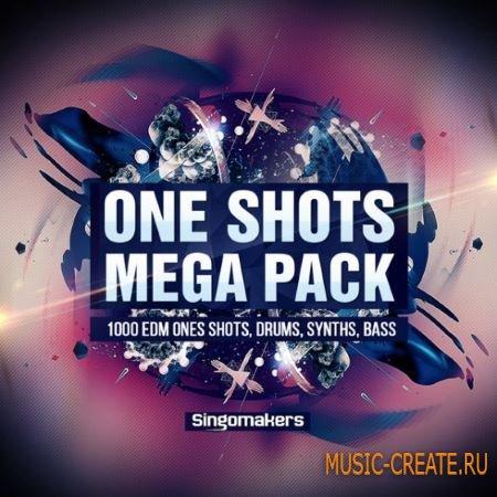 Singomakers - EDM One-Shots Mega Pack (WAV) - сэмплы EDM, Progressive House