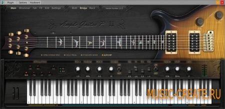 Ample Sound - AGP2 v2.0.2 WiN (TEAM R2R) - инструмент и сэмплы гитары PRS Artist Custom 24