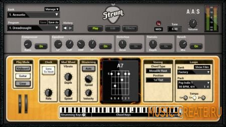 Applied Acoustics Systems - Strum GS-2 v2.0.0 WIN OSX (Team AiR) - синтезатор акустической гитары