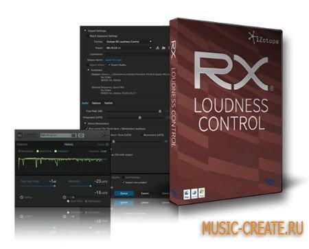 iZotope RX Loudness Control v1.03a (Team R2R) - плагин для контроля громкости