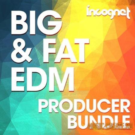 Incognet - Big and Fat EDM Producer Bunlde (WAV MiDi Sylenth Massive Spire) - сэмплы EDM