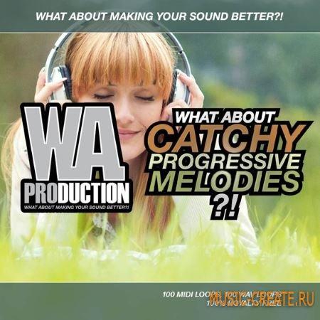 WA Production - Catchy Progressive Melodies (WAV MiDi) - сэмплы Progressive House