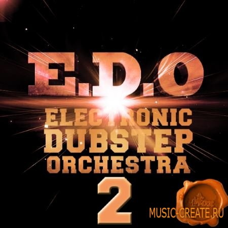 Fox Samples - EDO Electronic Dubstep Orchestra 2 (WAV MiDi) - сэмплы Dubstep