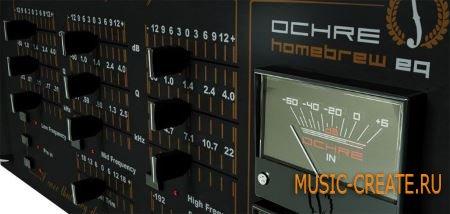 Acustica Audio - Ochre EQ v1.3.965 WIN/MAC - эквалайзер