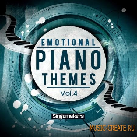 Singomakers - Emotional Piano Themes Vol.4 (WAV MiDi) - сэмплы фортепиано