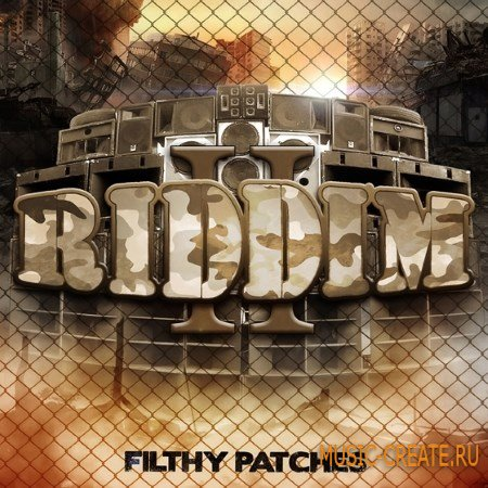 Filthy Patches - RIDDIM II (WAV SERUM) - сэмплы Dubstep