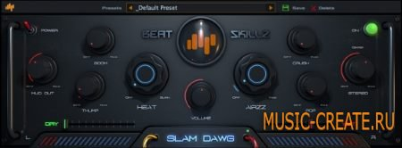 Beatskillz - Slam Dawg v1.0 WiN/MAC (Team UNION) - плагин для мастеринга