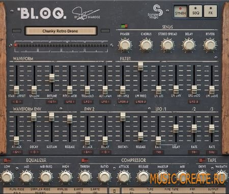 Sample Magic - BLOQ (Ableton KONTAKT Logic) - виртуальный инструмент