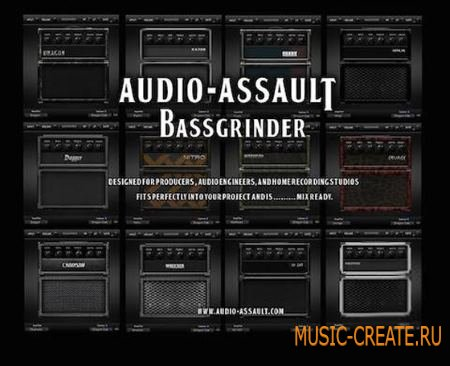 Audio Assault - BassGrinder WIN/MAC (Team BEAT) - бас машина