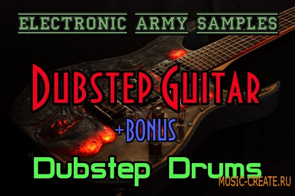 Electronic Army Samples.Dubstep Guitar