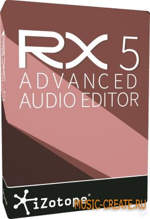 iZotope RX 5 Advanced Audio Editor 5.02 + PORTABLE (Team R2R/P2P) - плагин восстановления аудио