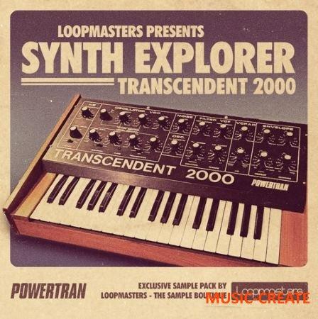 Loopmasters - Synth Explorer Transcendent 2000 (MULTiFORMAT) - сэмплы синтезатора